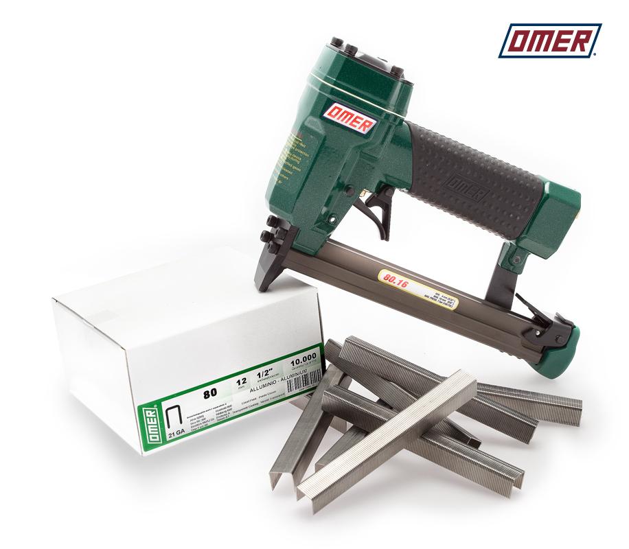 Aluminiumklammer 80/10 och klammverktyg 80.16