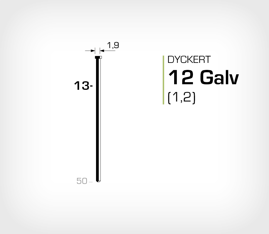 Dyckert 12/13 (SKN 12-13) Galv