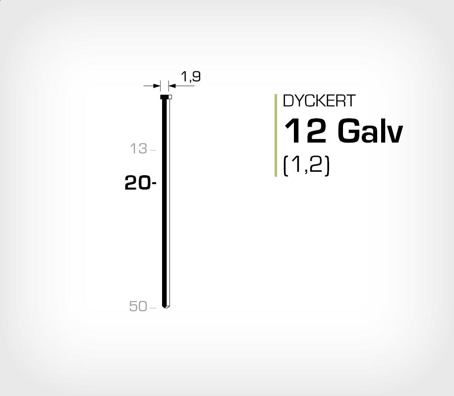 Dyckert 12/20 (SKN 12-20) Galv