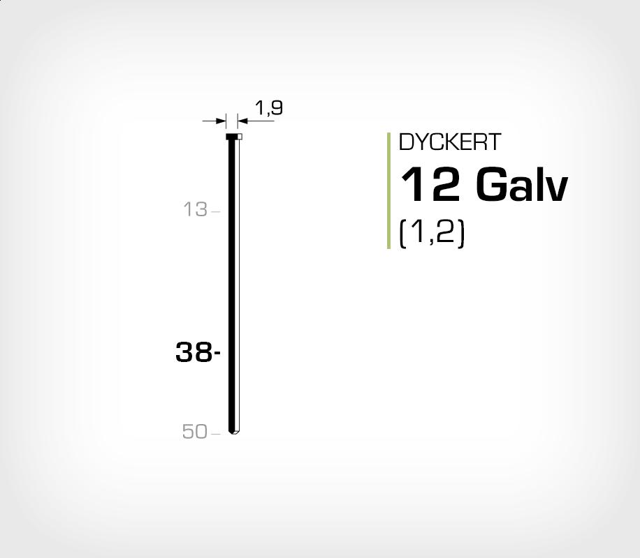 Dyckert 12/38 (SKN 12-38) Galv