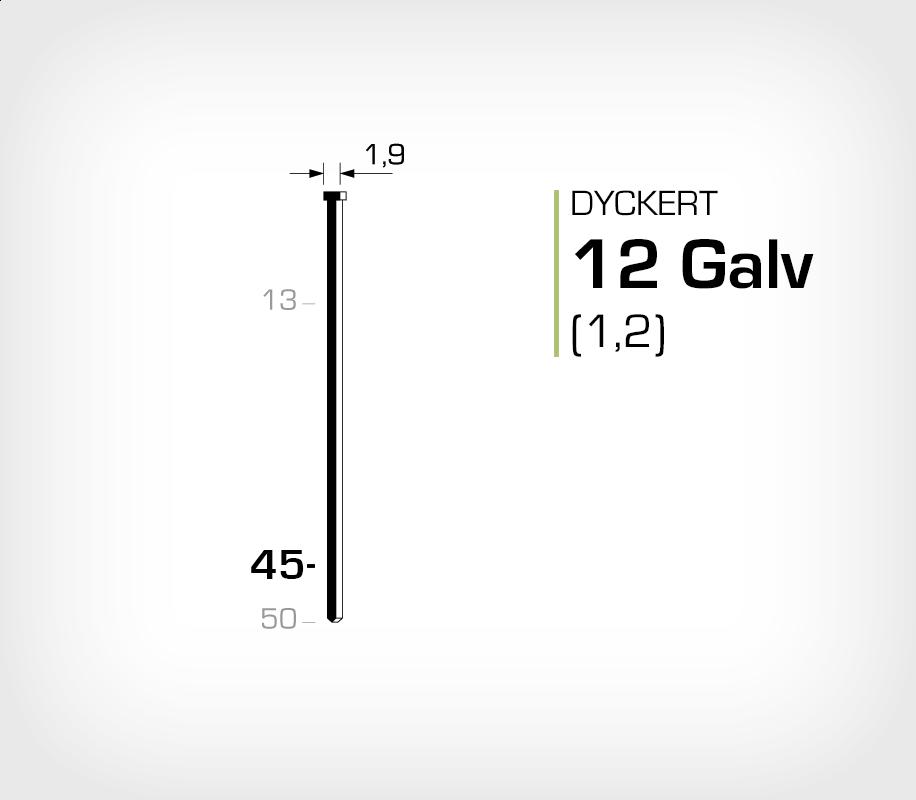 Dyckert 12/40 Galv (SKN 12-40)