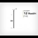 Dyckert 12/30 SS Rostfri - 7000 st /ask