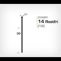 Dyckert 14/30 SS Rostfri (SKN 16-30 SS) - 4000 st /ask