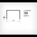 Klammer 32/18 (561-18K) - 20000 st / kartong
