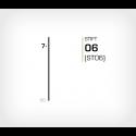 Stift 6/7 Stanox - 40000 st / ask