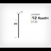 Dyckert rostfri 12/20 SS (SKN 12-20 SS)
