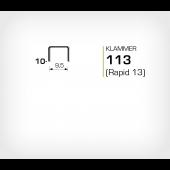 Klammer 113/10 (Rapid 13/10 Strong)
