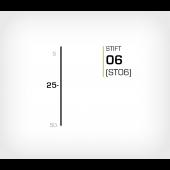Stift 6/25 Stanox - Stiftverktyg