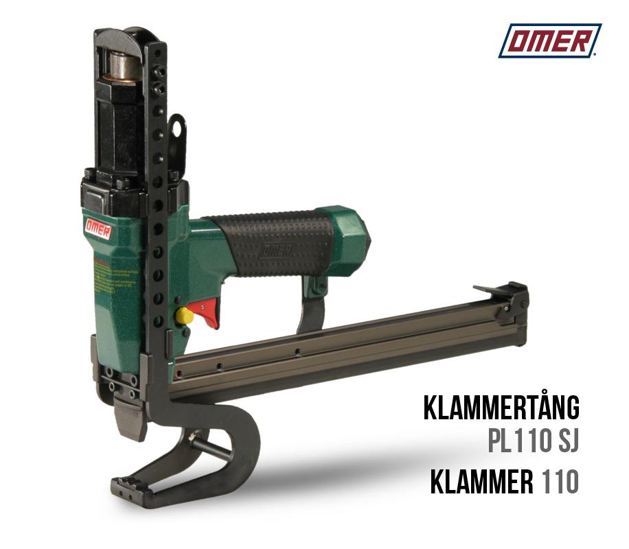 Klammertång PL 110 SJ är ett professionellt och välbalanserat verktyg
