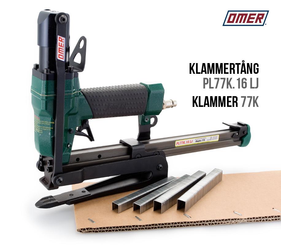 Klammertång PL77K.16 LJ för klammer 77K och JK777