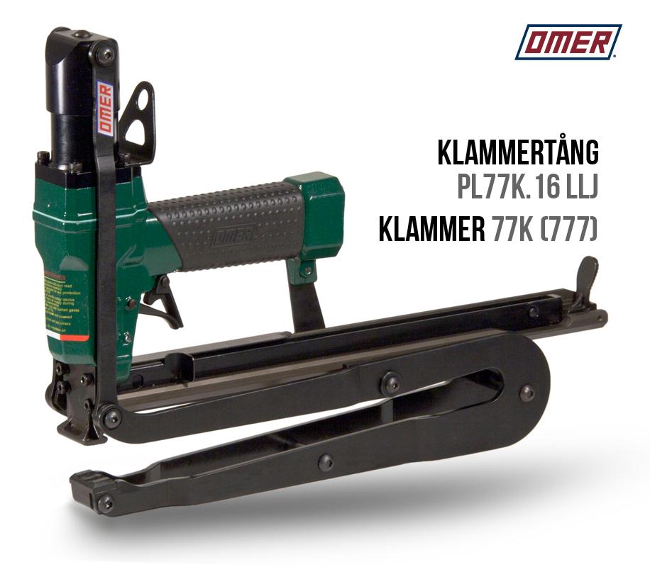 Klammertång PL77K.16 LLJ för klammer 77K och JK777