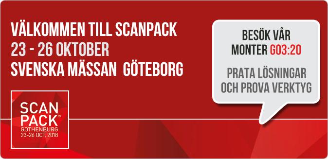 Besök HjoTrade på Scanpack 2018  23 - 26 Oktober - Svenska Mässan i Göteborg